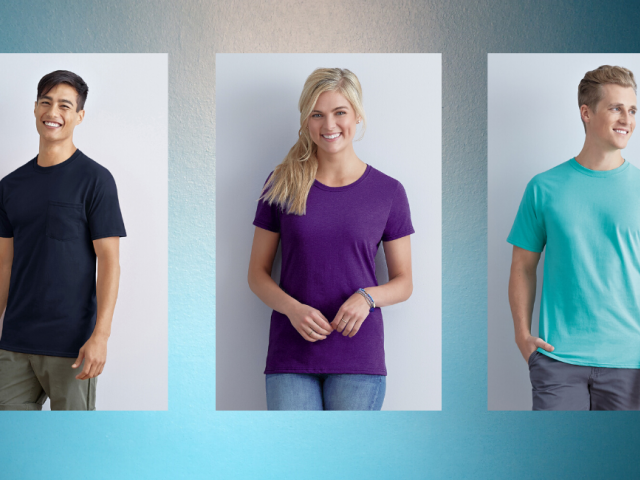 Cotton Crewneck T-Shirt
