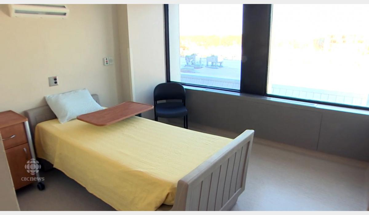 Attenda Sleigh Bed and Remedy Mattress at the Victoria Hospital