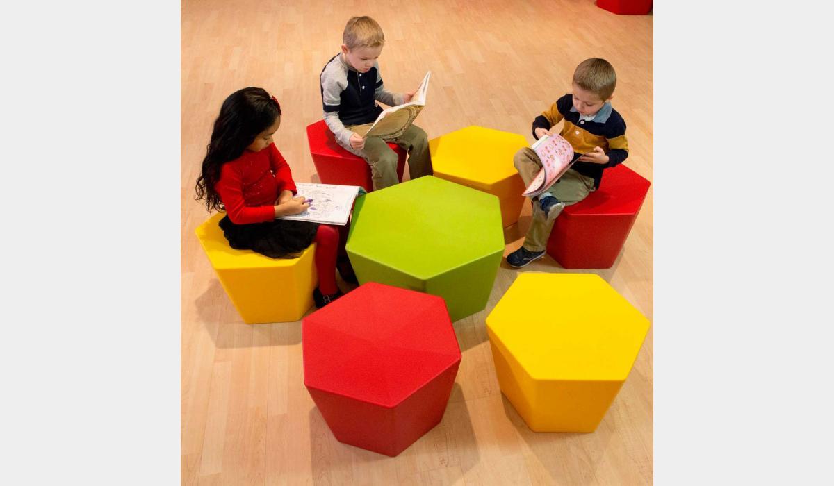 Hex-It Kids Furniture Series Setting