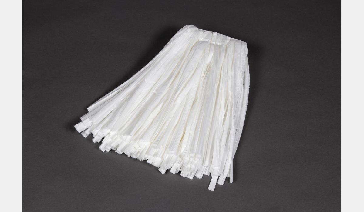 Prison Safe Non Woven White Cut End Mop - Briarwood